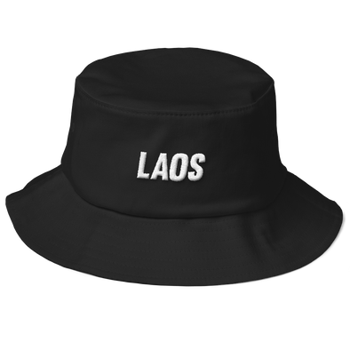 Laos OG Logo Flexfit Bucket Hat
