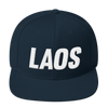 OG Laos Snapback Hat (3D Puff Embroidery)