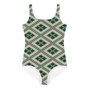 Saht All-Over Print Kids Swimsuit