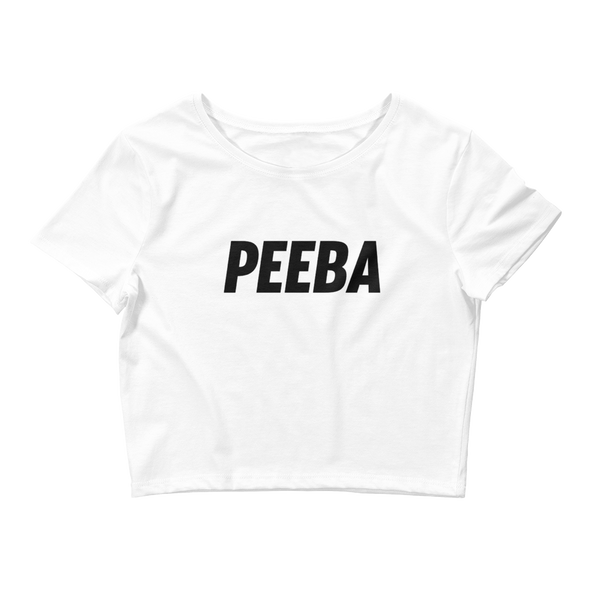 Peeba Women's Crop Tee
