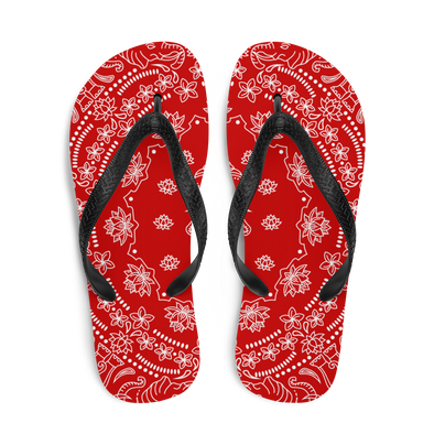 Bandana All-Over Flip-Flops