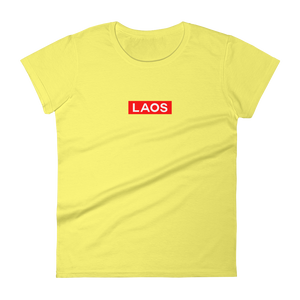 Laos Box Logo Women's t-shirt