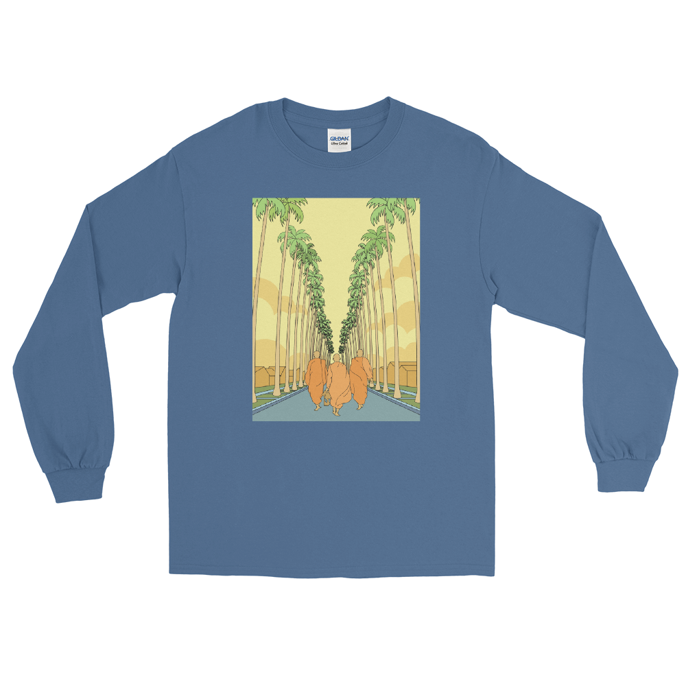 Monk March California Long Sleeve T-Shirt
