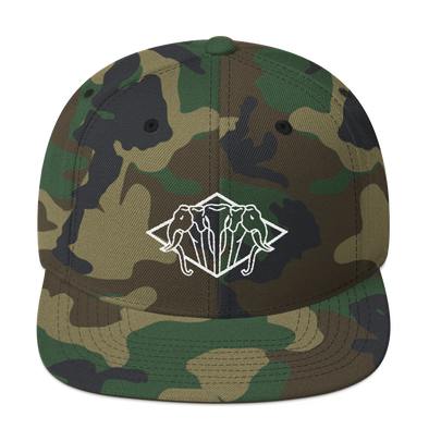 Lan Xang Diamond Snapback Hat