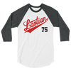 Major Laos League 3/4 sleeve raglan shirt
