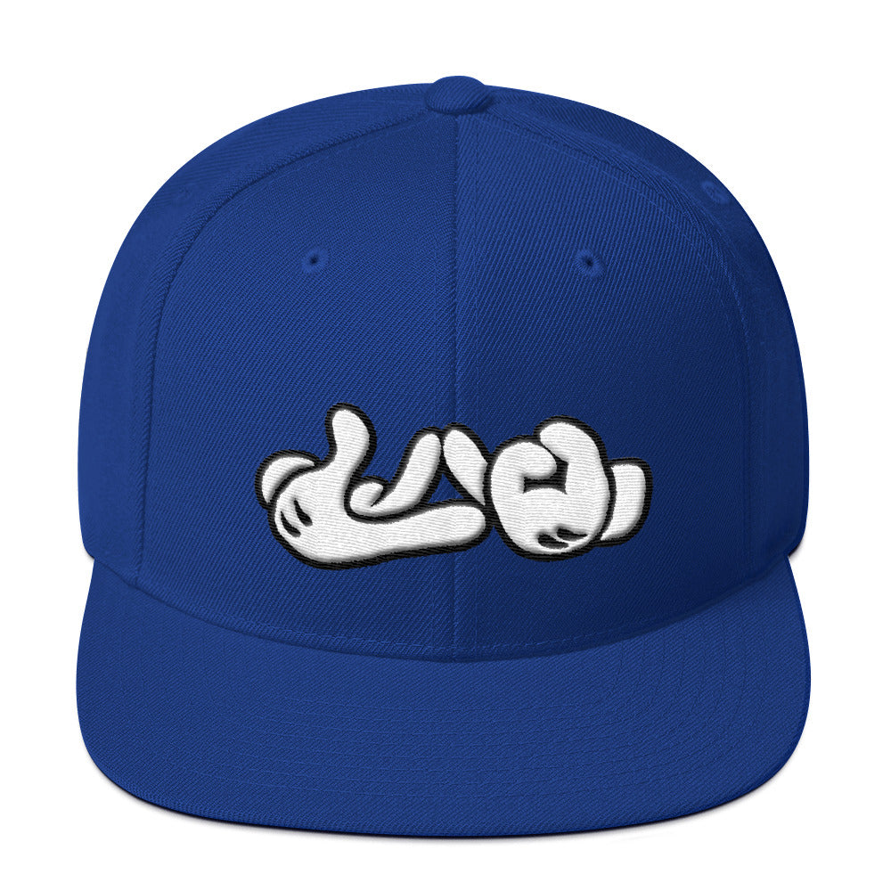Lao Hand Sign Snapback Hat