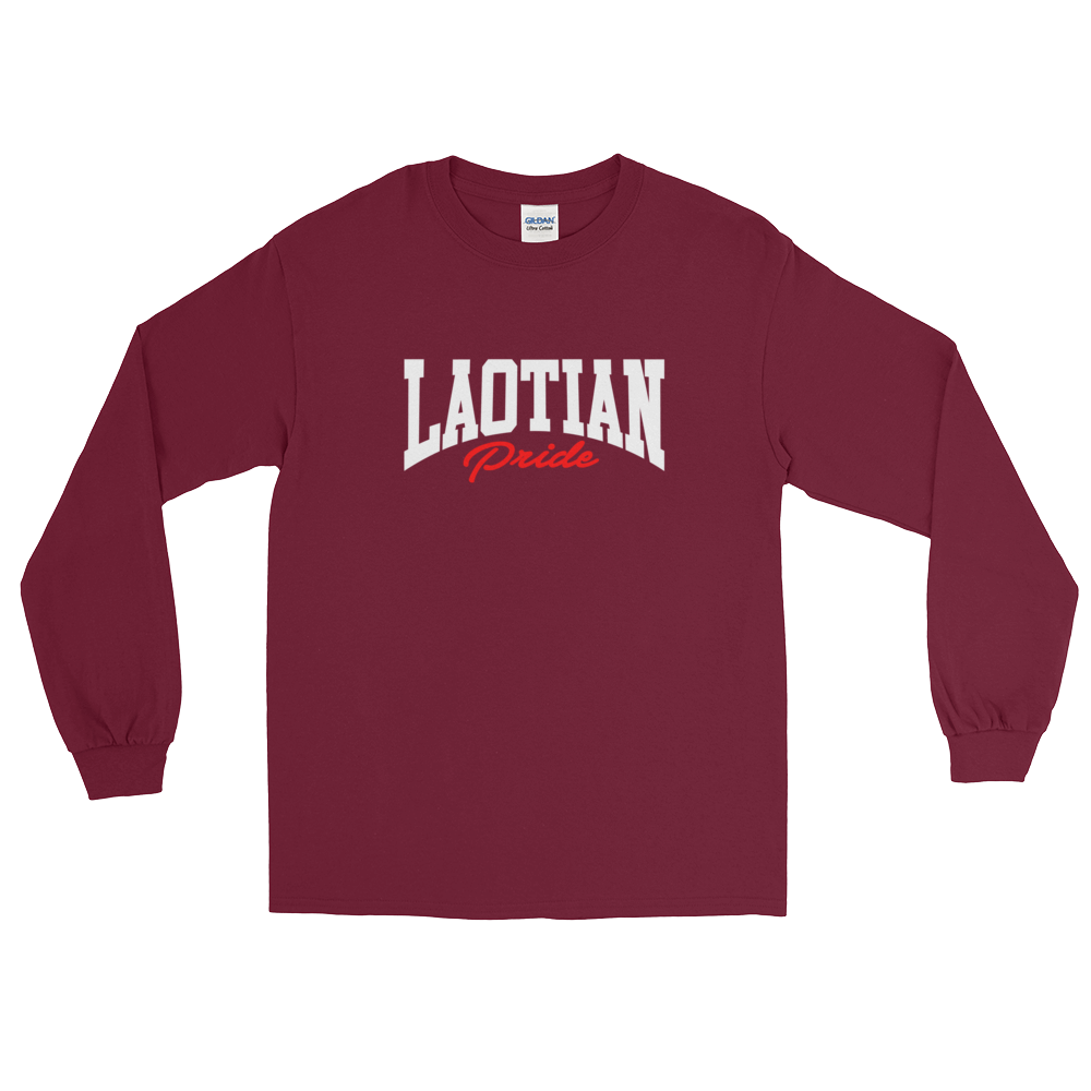 Laotian Pride Long Sleeve T-Shirt