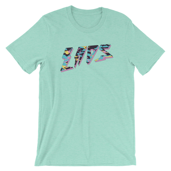 Laos Bolt Teal Camo T-Shirt