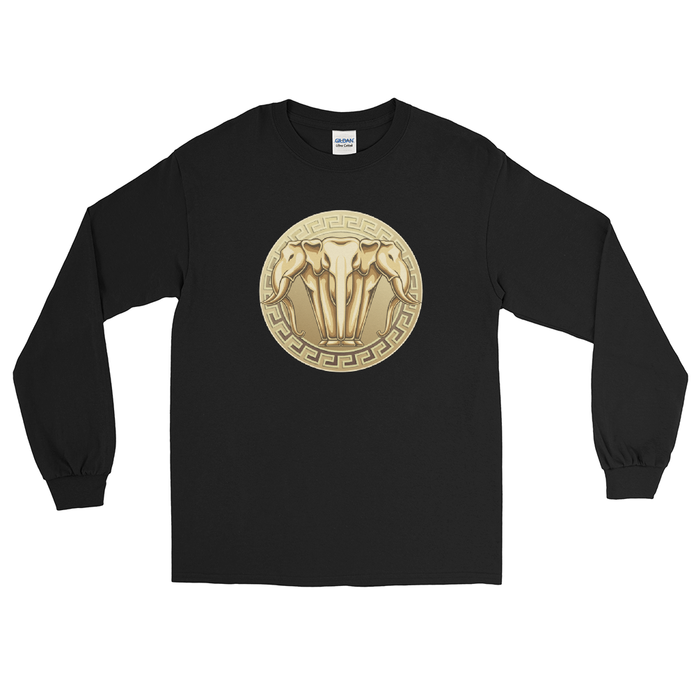 Gold Lan Xang Seal Long Sleeve T-Shirt