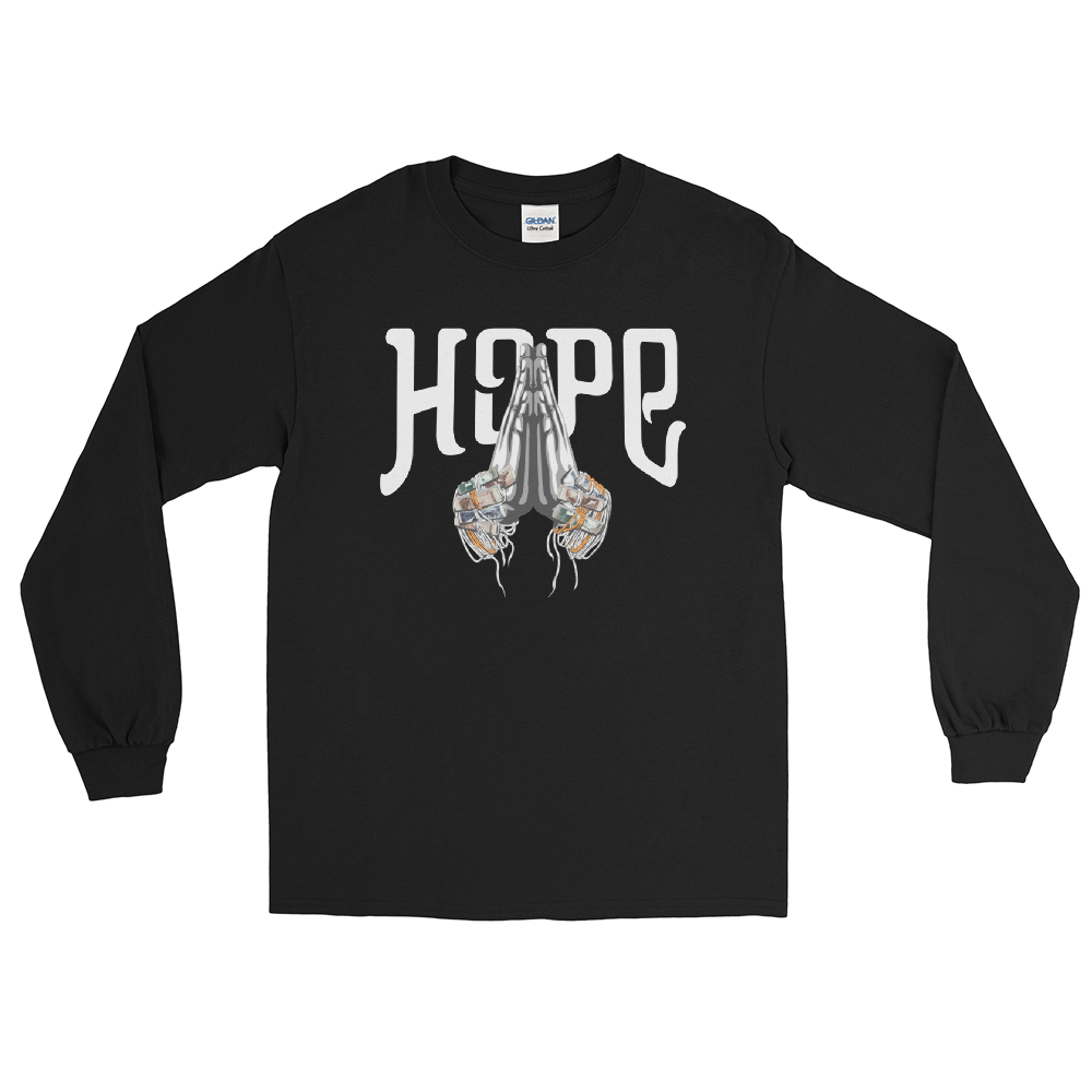 Hope Pook Khan Long Sleeve T-Shirt