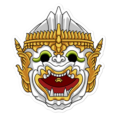 Hanuman Bubble-free stickers