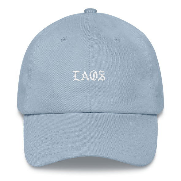 Laos Old English Dad Hat