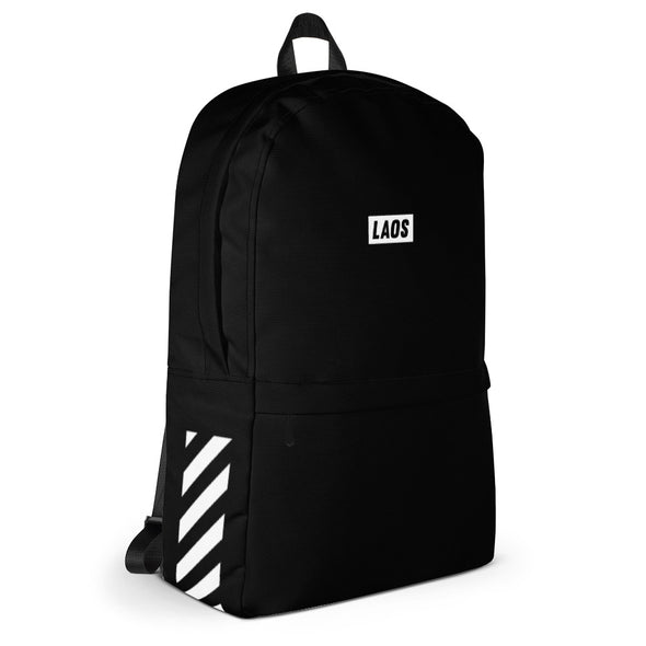 Laos Diagonal Stripe Backpack