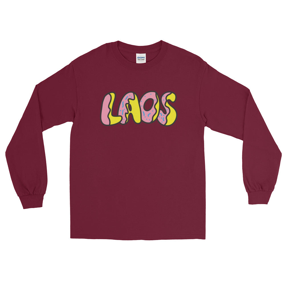 Laos Donut Long Sleeve T-Shirt