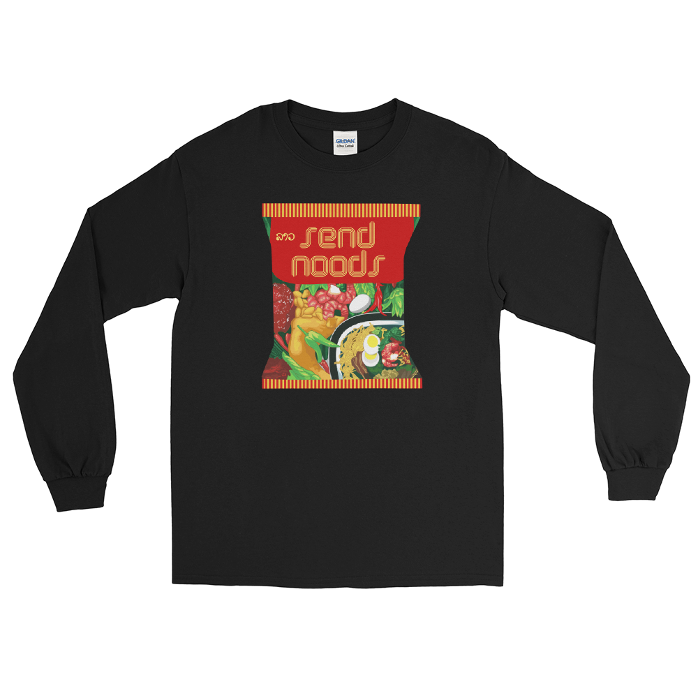 Send Noods Wai Wai Long Sleeve T-Shirt