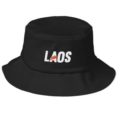 Laos Sash Logo Flexfit Bucket Hat