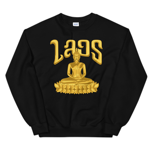 Golden Lotus Buddha Sweatshirt