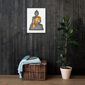 That Luang Buddha Canvas