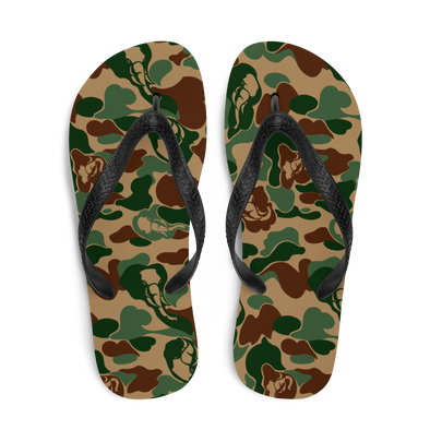 Elephant Camo All-Over Flip-Flops
