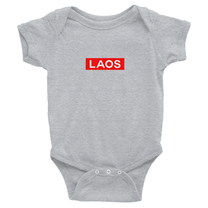 Laos Box Logo Infant Bodysuit