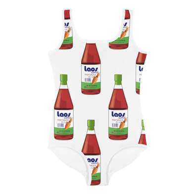 Nam Pa Fish Sauce All-Over Print Kids Swimsuit