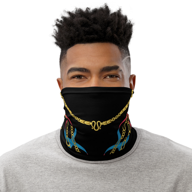 Gold Chain Neck Gaiter