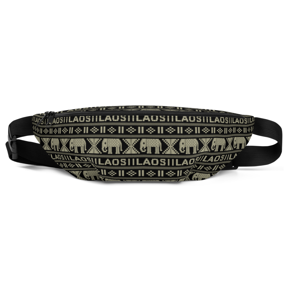Elephant All-Over Fanny Pack