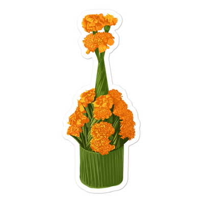 Marigold Bubble-free stickers