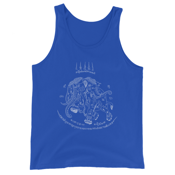 Traditional Elephant Tattoo Tank Top (JackBangerz)