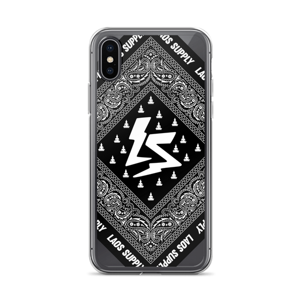 Laos Bandana iPhone Case