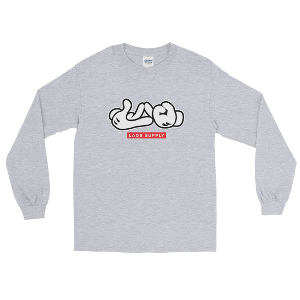 Lao Hand Sign Long Sleeve T-Shirt