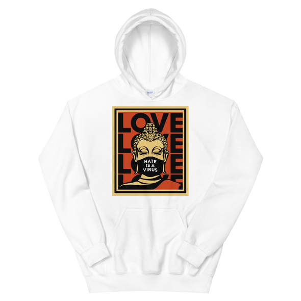 Hate Is A Virus Hoodie