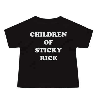 Children Of Sticky Rice Baby Tee (6-24 Months)