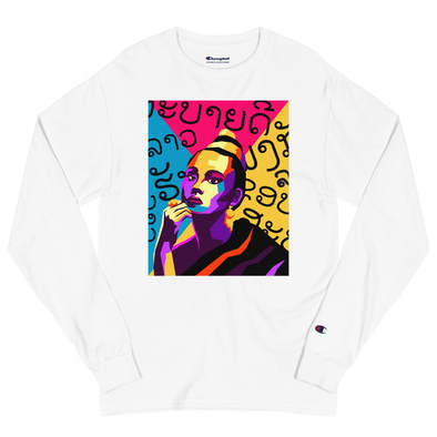 Sao Pop Art Champion Long Sleeve Shirt