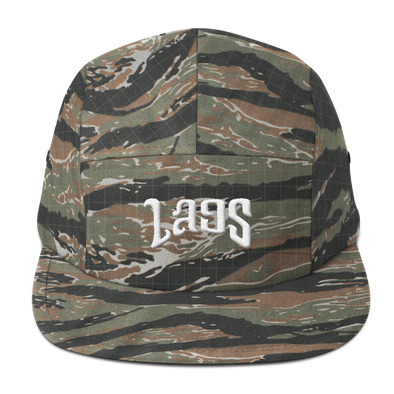 Laos Script 2 Five Panel Cap
