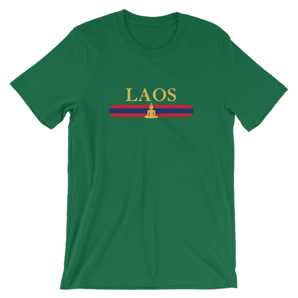 Laos Buddha Stripes T-Shirt