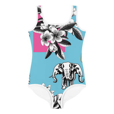 Lao Culture All-Over Print Kids Swimsuit