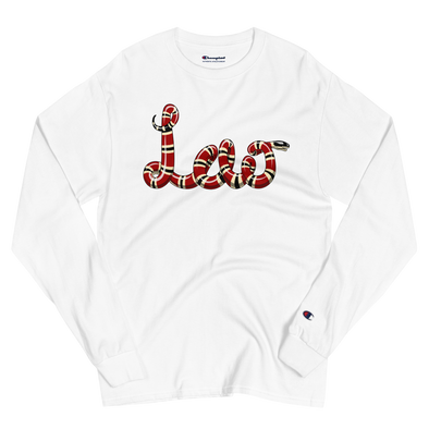 Lao Snake Men's Champion Long Sleeve Shirt