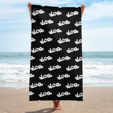 Lao Hand Sign All-Over Towel