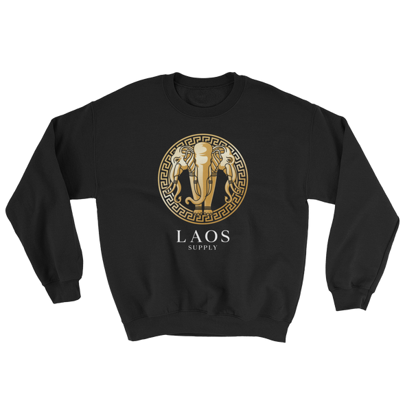 Laos Supply Elephant Crew Sweatshirt
