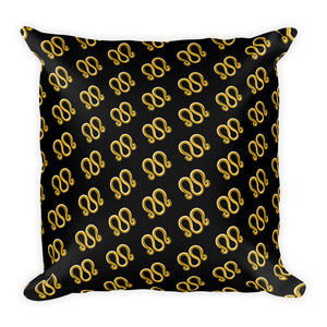 3-Ring Square Pillow