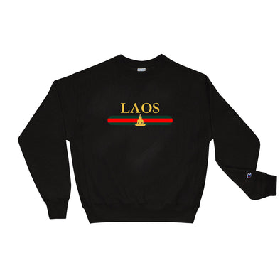 Laos Buddha Stripe Champion Sweatshirt