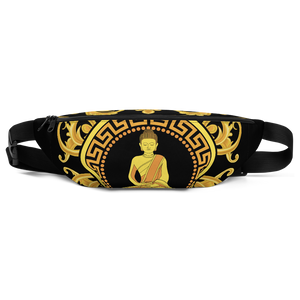 Golden Buddha All-Over Fanny Pack