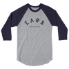 Laos Worldwide OG 3/4 sleeve raglan baseball shirt