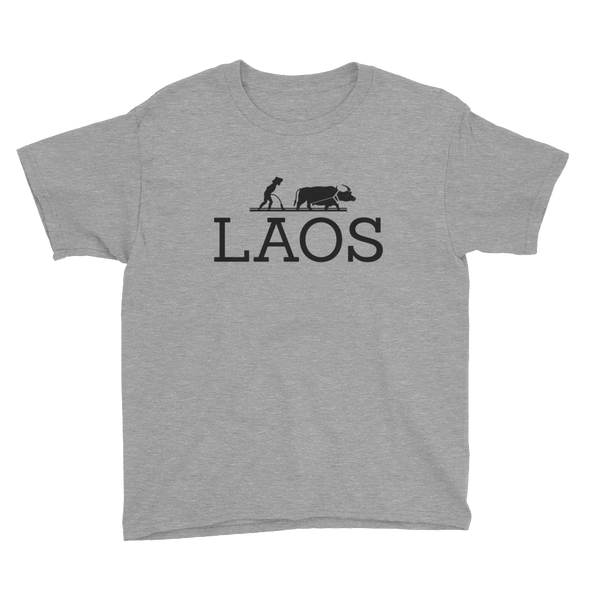 Laos Water Buffalo Youth Kids T-Shirt