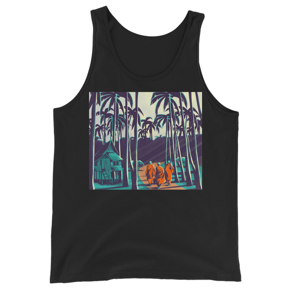 Monk March Palm Trees Tank Top
