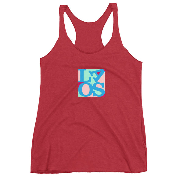 Laos Love Women's Racerback Tank