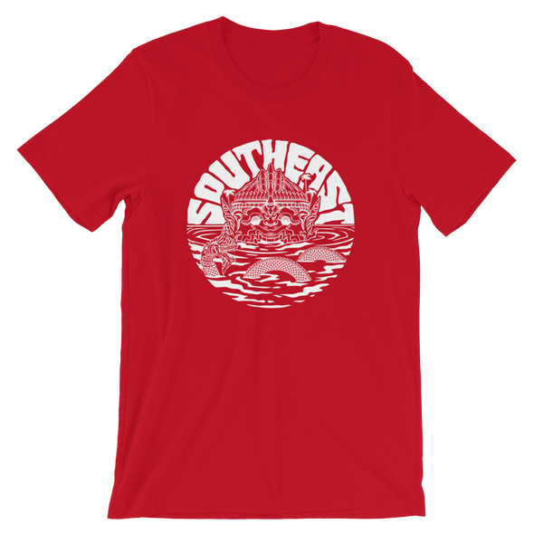 Southeast Beast Monkey Warrior Circle T-Shirt