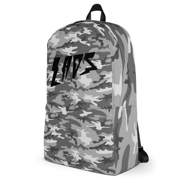Laos Grey Camo All-Over Backpack