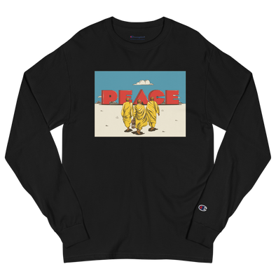 Monk March for Peace Champion Long Sleeve Shirt